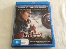 Captain America: Civil War (2016) - Limited Edition Art Blu-Ray | Like-New