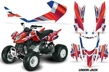 ATV Graphics Kit Quad Decal Sticker Wrap For Arctic Cat DVX400 DVX300 UNION JACK