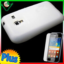 Case Silicone White for Samsung Galaxy S7500 Ace plus Case