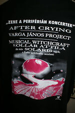 AFTER CRYING MUSICIAL WITCHCRAFT CZECH REPUBLIC PROG ROCK FEST SHIRT 2001 MIN
