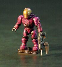 Halo Mega Bloks Series 4 Purple UNSC EVA Spartan Rare