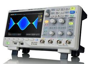 "Siglent SDS1104X-E 4CH 7""TFT 100MHz 14Mpoints + SAG1021I 25MHz DDS Generator"