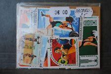 Haltérophilie, 25 timbres thématiques, tous différents