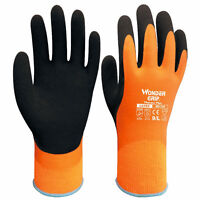 Cold Weather Gloves Thermo Plus Finger Mittens Liner Piled Acrylic Wonder Grip