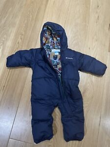 Columbia Baby Snowsuit Down60% and feather40% / 6-12m