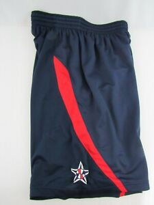 NIKE TEAM USA BASKETBALL PLAYER ISSUED OLYMPICS SHORTS WHITE BLUE RARE (SIZE M)
