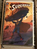SUPERMAN #50 JOSHUA MIDDLETON TRADE DRESS VARIANT COVER 2016 batman dc comics