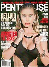 PENTHOUSE Magazine January 2013 Nicole Aniston with XXX DVD