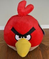 NEW Angry Birds Deluxe 8in. Plush Toy Red Bird (RED) OFFICIALLY LICENSED