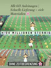 Animal Crossing New Horizons |Alle 643 Anleitungen  | Schnelle Lieferung 1.11.1
