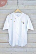 Camisa de mujer de color principal blanco talla M