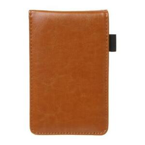 Multifunction Pocket Planner A7 Notebook Small Notepad Note Book Leather Cover