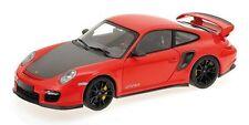 MINICHAMPS 2011 Porsche 911 GT2 RS Red/Carbon w/Black Wheels 1:18 *New Stock!