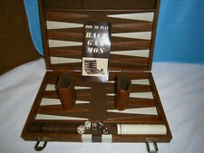 Vintage Backgammon Game with Instructions