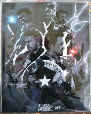 INFINITY WARS LOGAN PACK 8X10 Autograph BAM! Box COA 289 of 500 Marvel Avengers
