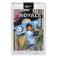 2020 TOPPS PROJECT 2020 #212 GEORGE BRETT - BY DON C