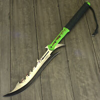 "27.5"" Z-HUNTER FULL TANG ZOMBIE KILLER SWORD APOCALYPSE MACHETE Sharp Large"