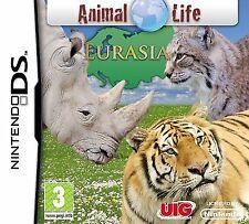 NDS DSi LITE XL gioco Animal Life Eurasia DSi-Videocamera Sostegno Nuovo