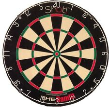 SHOT BANDIT DARTBOARD Steel Tip Bristle Dart Board