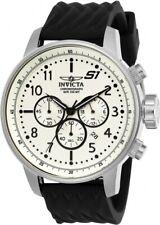 Invicta 23810 S1 Rally 48MM Men's Black Silicone Watch