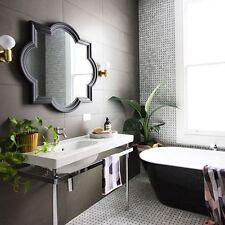 Antique Black finished trellis frame wall mirror new mirror bathroom mirror