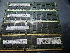 32GB (4x8GB) PC3L-10600R DDR3 1333MHz ECC Reg Server Speicher RAM Set