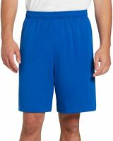 Under Armour Mens Activewear Shorts Blue Size Large L Tech Loose HeatGear 216