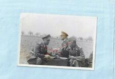 Nr.34900 Foto 2 WK Deutsche Soldaten  Offiziere  General Orden  8,5 x 11,5 cm