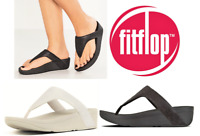 Fitflop comfort slip on footbed thong shoes Lottie Glitzy - Sizes 6 7 8 9 10