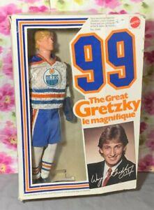 """1983 Mattel Wayne Gretzky Le Magnifique 12"""" Doll #5949 with Box"""