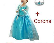 Elsa FROZEN Ispirato Luccicante /& Diamante Party Tutu vestito e mantello fatto a mano 1-11