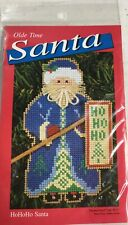 "New listing Olde Time Santa ""Ho Ho Ho Santa"" Cross Stitch Kit"
