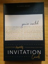 INVITATION Cards .Everyday Hospitality -15 CARDS WITH ENVELOPES -