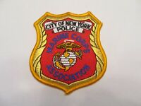 New York City Police Marine Corps Assn Patch
