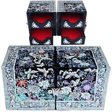 ewelry box Jewelry Organizer Holder Women Gift Items Mother Of Pearl 112