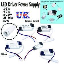 Controlador De Led Panel Adaptador AC85-265V a DC Transformador Fuente de alimentación tira de LED