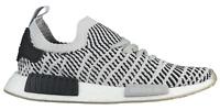 Adidas Men NMD R1 STLT CQ2387 Black Grey White Primeknit Mens