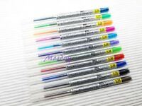 Uni-Ball Style Fit UMR-109-38 Roller Ball Pen Refills, 11 Colors available