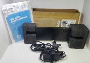 New Open Box HP UltraSlim EliteBook Docking Station B9C87AA#ABA (2)