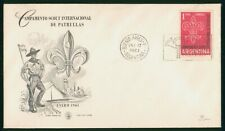 Mayfairstamps Argentina 1961 Scouts First Day Cover wwo1247