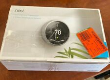 Google Nest Learning Thermostat 3rd Gen Stainless Steel w/2 Sensor: BH1252-US