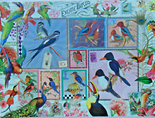 PUZZLE..JIGSAW...BEHR...Grand Exotic Birds Collage...1000.Pc...Sealed
