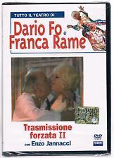 DARIO FO FRANCA RAME TRASMISSIONE FORZATA II CON ENZO JANNACCI DVD FABBRI SIGIL.