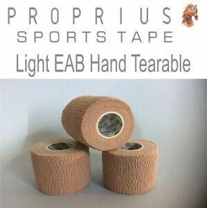 Light  EAB-Hand Tearable,Blood Tape,Elastic Adhesive Bandage 12xRolls50mmx4.5m