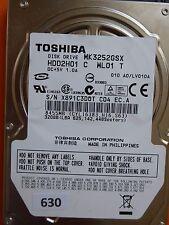 320gb Toshiba mk3252gsx hdd2h01 C wl01 T | lv010a #630