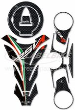 Kit Stickers 3D PROTECTOR compatible with Motorcycle Aprilia -Rsv4 Carbon Look