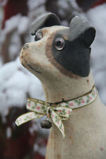 Rare Antique German Figural Dog Candy Container c1880!