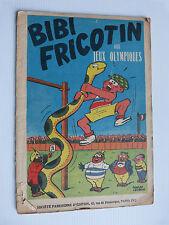 BIBI FRICOTIN aux jeux olympiques  n° 15 en réédition