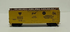 Yellow N Scale Model Train Carriages