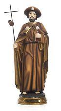 Statua San Giacomo Apostolo Santiago de Compostela  h 12,3 art. religiosi Paben